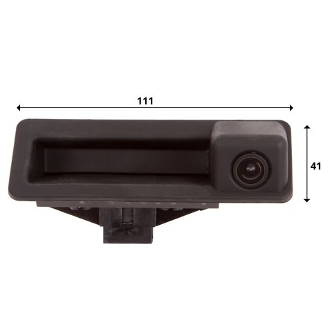 Tailgate Rear View Camera for BMW 5 Series of 2013-2015 MY Preview 1