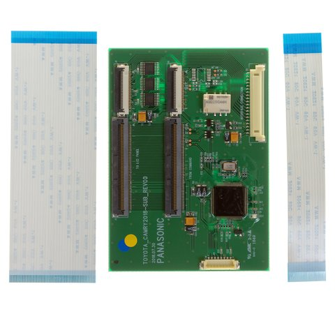 Video Interface with LVDS Input for Toyota Camry of 2018– MY with Panasonic Head Unit Preview 2
