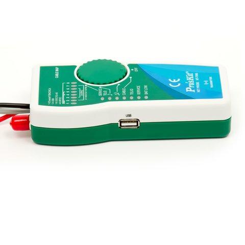 Тестер телекоммуникационных сетей и линий передачи данных Pro'sKit MT-7068 - Просмотр 2