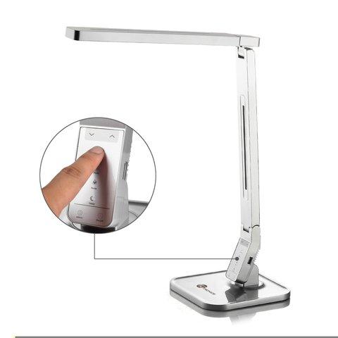 Настольная бестеневая лампа TaoTronics TT-DL07, серебристая, EU Превью 4