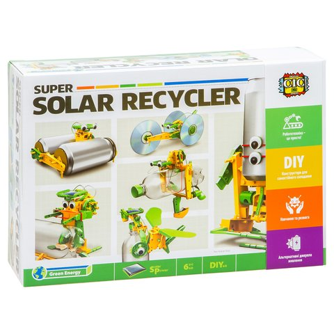CIC 21-616 Super Solar Recycler DIY Kit 6 in 1 Preview 8