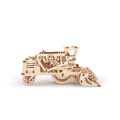 Механический 3D-пазл UGEARS Комбайн - Просмотр 4