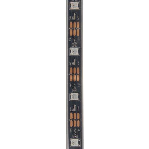 Tira de luces LED  SMD5050, WS2812B (con controles, IP67, 5 V, 30 diodos LED/m, 5 m) - Vista prévia 2